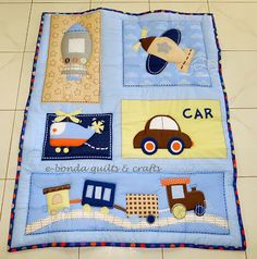 Bebe colchas on pinterest 3359 pins - Colchas cuna patchwork ...