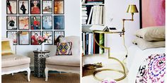 love this gold side table