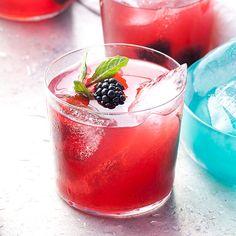 Blackberries, bourbon, mint, sugar // More Fabulous Summer Fruit Cocktails: http://www.foodandwine.com/slideshows/summer-fruit-cocktails #foodandwine
