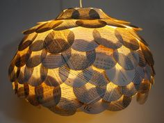 Book lamp #recycled