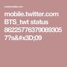 mobile.twitter.com BTS_twt status 862257763790893057?s=09