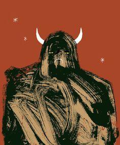Mountain Troll Man by Rob Hodgson.
