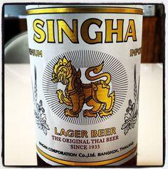 Singha Original Thai Lager Beer