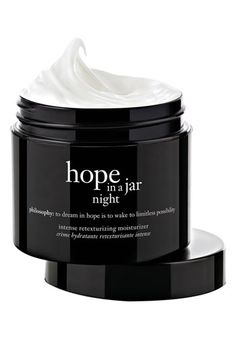 philosophy 'hope in a jar night' intensive retexturizing moisturizer available at Nordstrom