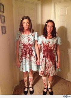 Grady Sisters Halloween Costume #theshining #gradysisters #stanleykubrick