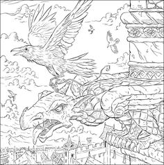 Game of Thrones Coloring Book G o T
