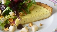 For Love of the Table: Goat Cheese Tart