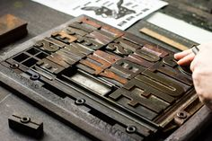 Lettering Time: Guía completa de impresión en Letterpress