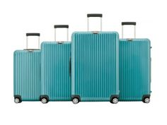 Rimowa Salsa Deluxe Ipanema Blue Metallic  Check out more fashion pics at http://brvndon.com