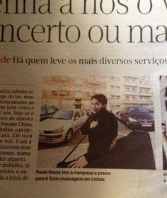 Paula Neves ( Terapeuta ): Reportagem  :)