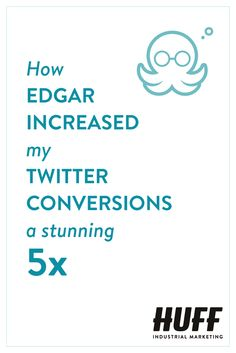 Use Edgar to build up a library of content which is re-used over and over again according to your pre-set schedule, instead of using Buffer or Hootsuite where you have to keep scheduling your social media updates. This is amazing and gets results!