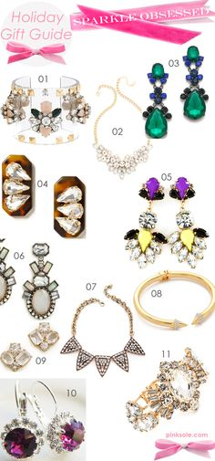 Holiday Gift Guide Jewelry Sparkle Obsessed Happy Thanksgiving & more Holiday Gift Guides