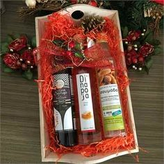 Dinapoja Liqueur and Syrup Christmas Gift