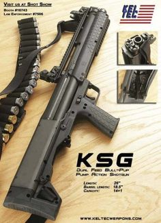One day the KSG will be my zombie gun