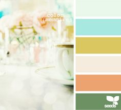 Color memories palette by Design seeds Colour Pallette, Color Combos, Color Palate, Room Color Schemes, Design Seeds, Colour Board, Color Swatches, Vintage Colors, Color Theory