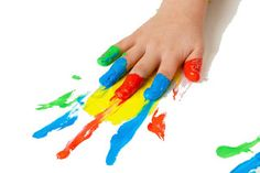 Finger Painting Prints lesson plan:  Learn How:  There is nothing that is more fun for kids, than to have colourful squishy paint all over their hands. To be creating a colourful masterpiece is just an added bonus. Here is the lesson plan.  www.schoolpaints.com