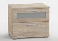 Nachtkommode Jack 1 Nachtkonsole Eiche Sonoma 8041. Buy now at https://www.moebel-wohnbar.de/nachtkommode-jack-1-nachtkonsole-nachttisch-eiche-sonoma-8041.html