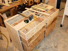 John Heisz shop drawers