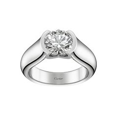 40 Fabulous Engagement Rings - Cartier from #InStyle