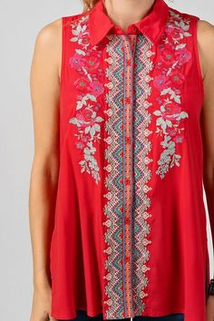 0c4334421f0632 Embroidered Top by Andree from Divine Couture Boutique Couture Boutique
