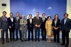 Alberto Fabra con la nueva dirección del Grupo Parlamentario Popular.