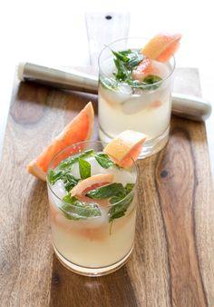 Refreshing Grapefruit Mojito recipe
