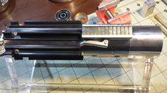MHS Graflex Custom Lightsaber Build. MHS Hilt body with ESB/Force Awakens style t-grips. Authentic Graflex clamp and lever.