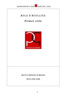 Copia de acollida 2011 2012 by mjvercher via slideshare Catalan Language, Learning To Write, Special Education, Classroom, Reading, School