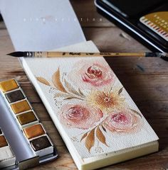 Curious to see what it looks like when she is done? We have to repost hers. :) #Repost @aina.kristina ・・・ Good sunday morning ☀️ Watercolor: @primamarketinginc shimmering lights Paper: Prima Watercolor Paper Pad - @theyellowviolethouse have these along with more Prima products!  Brush: Raphael 3/0 mop brush . . . . . #brushlettering #brushpen #calligraphy #calligraphyph #calligritype #curiouscalligrapher #flatlays #flourishforum #freehand #habitandhome #handlettering #handmade #inkspirat...