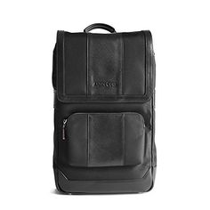 Waterproof Laptop Backpack 17inch Leather Business Work College School Travel for Women  Men Black * You can find out more details at the link of the image. Note: It's an affiliate link to Amazon #mensmartwatch