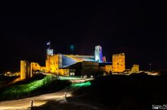 "Pic belonging to a friend, Kristian.  ""Night HDRi photo of Rakvere castle in #Estonia . Rakvere castle were built in the 14th century"""