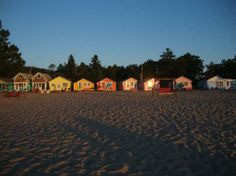 Mai Tiki Resort...Oscoda, MI. I hope to rent this entire place someday :)