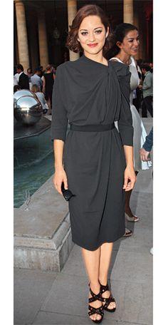 Marion Cotillard in Lanvin, 2009 - 200 Celebrity Looks We Love - Get Star Style - Fashion - InStyle