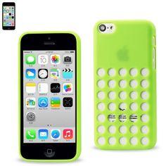 $14.50 Reiko Slim Gel Dots Skin Case For Apple iPhone 5c