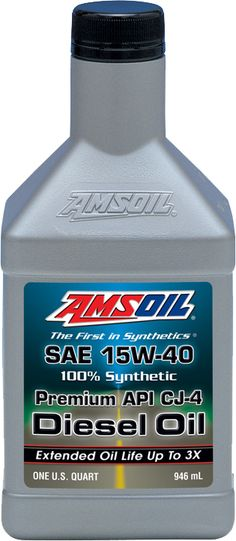 AMSOIL 15W40 Synthetic Diesel Oil  - Come check out the AMSOIL diesel products at http://shop.haldimandsyntheticoil.ca/motor-oil/diesel/