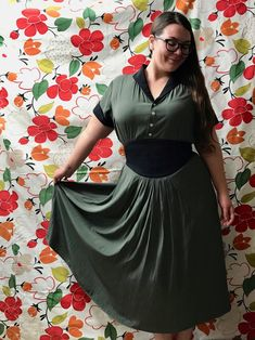 Joucelen's entry #tessuticolourinthirds Waist Skirt, High Waisted Skirt, Short Sleeve Dresses, Dresses With Sleeves, Competition, Colour, Skirts, Inspiration, Fashion