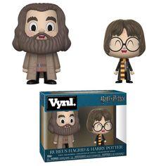 Harry Potter Vynl. Figure - Hagrid & Harry (2-Pack) @Archonia_US