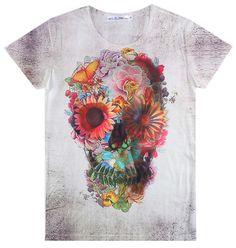 Hip Hop new 2015 homens / mulheres novidade T Shirt do crânio 3D impressão de roupas moda masculina Tees engraçado camiseta Casual Plus tamanho grande em Camisetas de Roupas e Acessórios Femininos no AliExpress.com | Alibaba Group