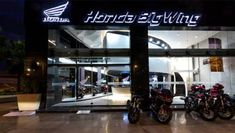 Honda Two Wheelers launches BigWing showrooms that will sell high-end motorcycles & scooters - automobil Motorcycles In India, Honda Motorcycles, Luxury Car Brands, Luxury Cars, Honda Dealership, Bike News, Bike Brands, Honda Cars, Commuter Bike