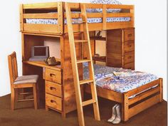 Diy Bunk Bed For Boys Room Loft Bed Tree House Bunk Bed