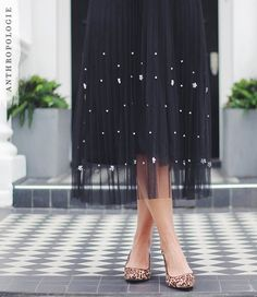 Pearl Tulle Skirt | Shop Christmas outfits at Anthropologie