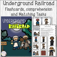 African American History Underground Railroad Flashcards C