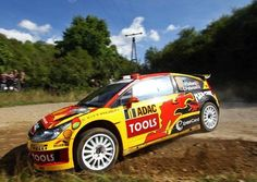 Citroen C4 WRC rally car