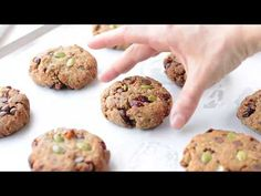 Paleo Breakfast Cookies - Vegan + Gluten Free - Sweetashoney