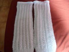 Sempre Hamada Tricô e Crochê: Polaina de trico para adulto com receita