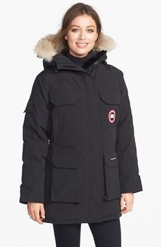 Canada Goose Canada Goose 'Expedition' Relaxed Fit Down Parka with Genuine Coyote Fur available at #Nordstrom