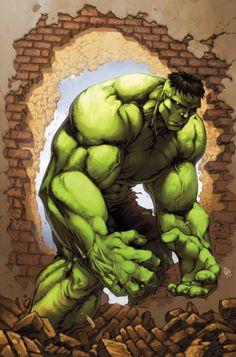 #Hulk #Fan #Art. (Marvel Age Hulk Vol.1 #3 Cover) By: JOHN BARBER. (THE * 5 * STÅR * ÅWARD * OF: * AW YEAH, IT'S MAJOR ÅWESOMENESS!!!™) ÅÅÅ+