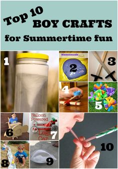 Top 10 Boy Crafts for the Summer