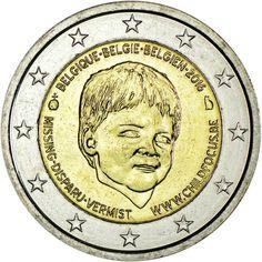 2 Euro CuNi Child Focus UN