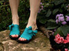 VENTE taille 11 - milieu ébène chaton RTW Mohop chaussures
